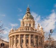 St Stephen & x27; a basílica de s é uma romana - basílica católica em Budapest, Hungria Imagens de Stock Royalty Free