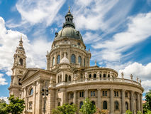 St Stephen Basilica, Boedapest royalty-vrije stock afbeeldingen