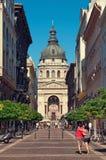 St. Stephen Basilica, Budapest Royalty Free Stock Photo