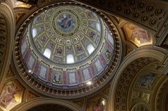 St Stephen Basilica, Budapest Immagine Stock
