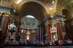 St. Stephen Basilica, Budapest. Royalty Free Stock Photos