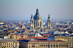 St. Stephen Basilica Budapest Royalty Free Stock Photos