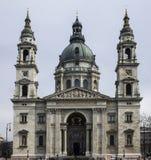 St Stephen Basilica de Budapest Fotografía de archivo