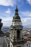 St Stephen Basilica de Budapest imagen de archivo libre de regalías