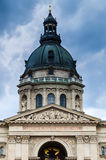 St. Stephen Basilica Dome in Budapest, Hungary Stock Image