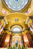 St. Stephen Basilica dome, Hungary Stock Photo