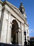 St. Stephen Basilica voorzijde Stock Afbeelding