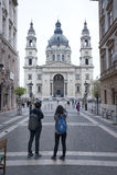 St Stephen Basilika Budapest Lizenzfreies Stockfoto