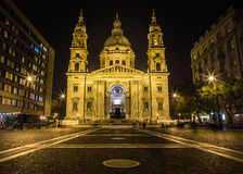 St Stephen Basilika in Budapest Stockfotografie