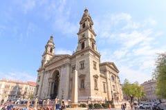 St Stephen Basilika, Budapest, Ungarn Lizenzfreie Stockbilder