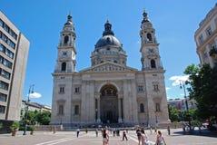 St Stephen basilika i Budapest Royaltyfria Foton