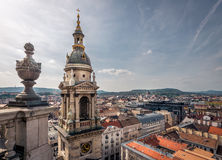 St Stephen bazylika, Budapest Fotografia Royalty Free