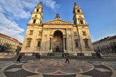 St Stephen bazylika, Budapest zdjęcie royalty free
