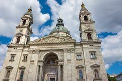 St Stephen bazylika Budapest Węgry Zdjęcia Royalty Free