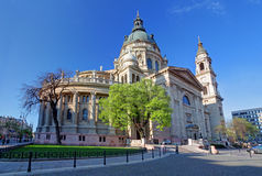 st stephen budapest Венгрии s базилики Стоковая Фотография RF