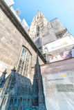St Stephen & x27; catedral de s, Viena Foto de Stock Royalty Free