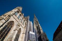 St Stephen & x27; catedral de s, Viena Fotografia de Stock