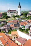 St. Stephen cathedral, Litomerice, Bohemia, Czech republic Royalty Free Stock Photos