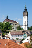 St. Stephen cathedral, Litomerice, Bohemia, Czech republic Royalty Free Stock Photo