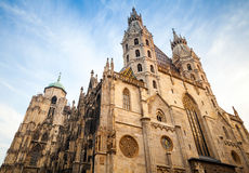 St. Stephen Cathedral or Stephansdom in Vienna Stock Photography