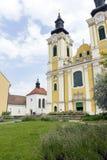 St. Stephen Cathedral in Szekesfehervar, Hungary. The baroque St. Stephen Cathedral in Szekesfehervar, Hungary Stock Photos