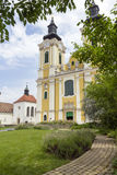 St. Stephen Cathedral in Szekesfehervar, Hungary Stock Image