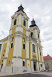 St. Stephen Cathedral in Szekesfehervar, Hungary. The baroque St. Stephen Cathedral in Szekesfehervar, Hungary Royalty Free Stock Images