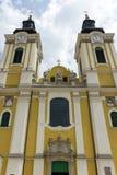 St. Stephen Cathedral in Szekesfehervar, Hungary. The baroque St. Stephen Cathedral in Szekesfehervar, Hungary Royalty Free Stock Photography