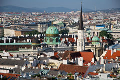From St Stephen Cathedral of Vienna Stock Image