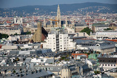 From St Stephen Cathedral the Vienna capital Royalty Free Stock Photos