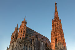 St Stephen Cathedral Vienna Royalty Free Stock Images