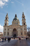 St. Stephen Church Budapest, Hungary Royalty Free Stock Photography