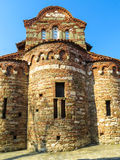 St Stephen Church, 10de eeuw Oude Nessebar, Bulgarije Stock Fotografie