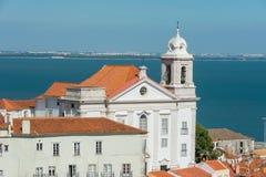 St Stephen church Lisbon Portugal Royalty Free Stock Photos