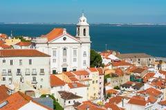 St Stephen church Lisbon Portugal Stock Photos