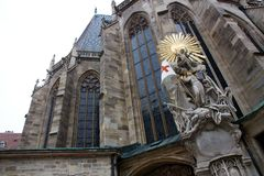 St. stephen church in vienna Royalty Free Stock Images