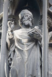 St. Stephen Church in Vienna - statue of a saint 2 Stock Photos