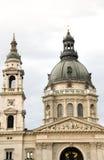 St. Stephen de Kathedraal Boedapest Hongarije van de Basiliek Stock Foto