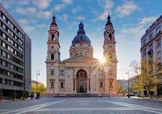 st stephen di Budapest Ungheria s della basilica Fotografie Stock