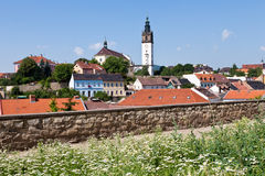 St Stephen domkyrka, Litomerice, Bohemia, Tjeckien Arkivbilder