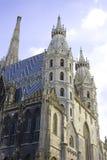 St Stephen domkyrkavienna Österrike basilika royaltyfri bild