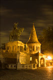 St. Stephen emperor statue in Budapest Royalty Free Stock Photography