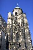 St stephen het gotische symbool van kathedraaloostenrijk Wenen Stock Fotografie