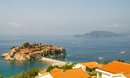St Stephen Insel, Montenegro Stockfotografie