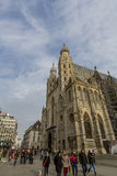 St. Stephen katedra w Wiedeń obrazy royalty free