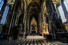 St Stephen Katedralna sala Fotografia Royalty Free