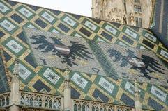 St Stephen katedry dach Wiedeń, Austria - Obrazy Stock