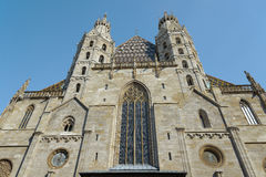 St Stephen Kathedraal - Wenen Stock Foto
