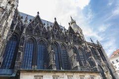 St Stephen Kathedraal in Wenen stock foto's