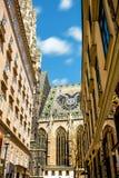St Stephen Kathedrale in Wien Lizenzfreies Stockfoto